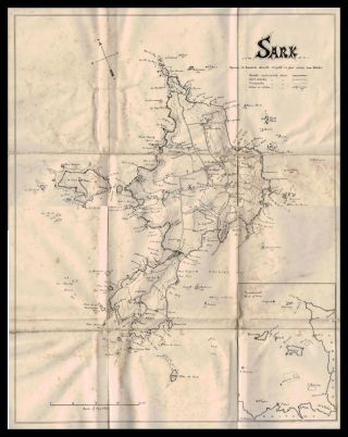 SARK. A Practical Guide and Map of the Island. Ninth Edition (Revised).