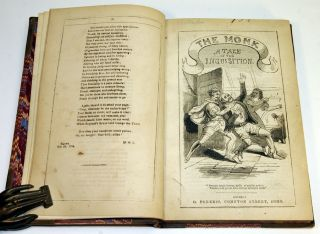 THE MONK. A TALE OF THE INQUISITION.