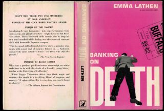 BANKING ON DEATH. The First Edition of the Author's First Book.