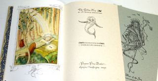 THE GOLDEN KEY. Written by George MacDonald, with illustrations by Charles van Sandwyk.