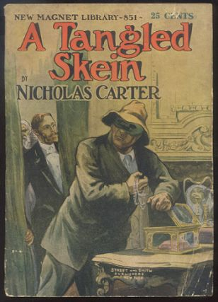 A TANGLED SKEIN; Or, A Hard Nut to Crack. Nicholas CARTER