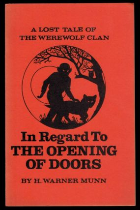IN REGARD TO THE OPENING OF DOORS. H. Warner MUNN
