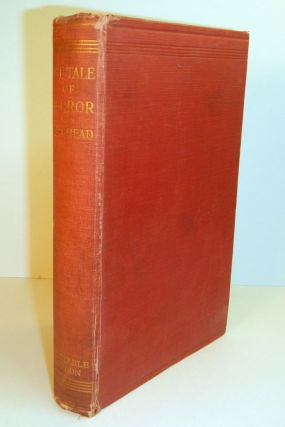 THE TALE OF TERROR. A Study of the Gothic Romance. Edith GOTHIC FICTION BIRKHEAD, M. A