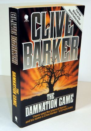 THE DAMNATION GAME. Inscribed by the Author. Clive BARKER